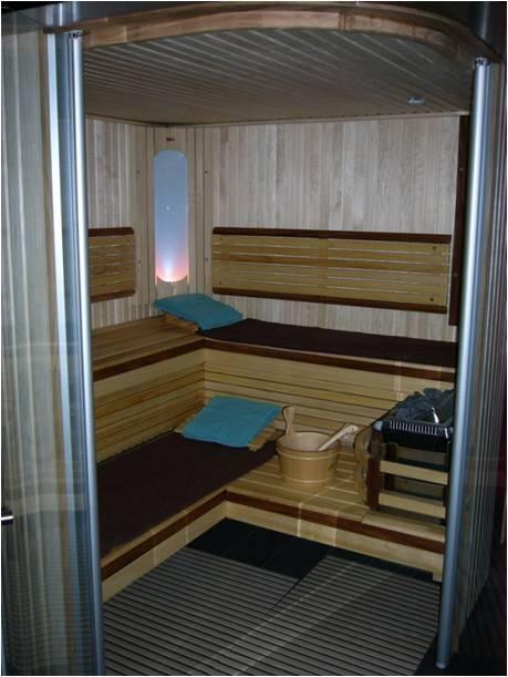 b&b prive sauna